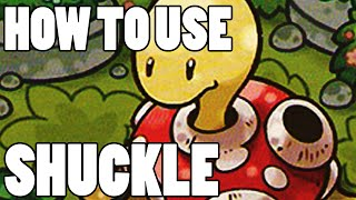 Shuckle  - (Pokémon) - How To Use: Shuckle! Shuckle Strategy Guide ORAS / XY - Something F*ckle