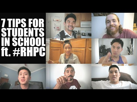 7 TIPS FOR STUDENTS IN SCHOOL ft. #RHPC! | Let's Talk! Episode 5