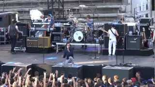 """The All-American Rejects """"Walk over me"""" @Nimes 17/07/12"""