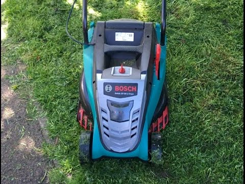 Bosch Rotak 37-36 Li Ergo Cordless Lawnmower Real Life Review