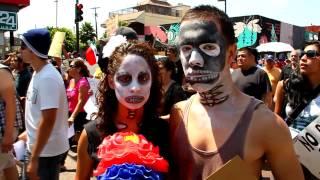 Mega Marcha Tijuana Julio 22 2012 HD