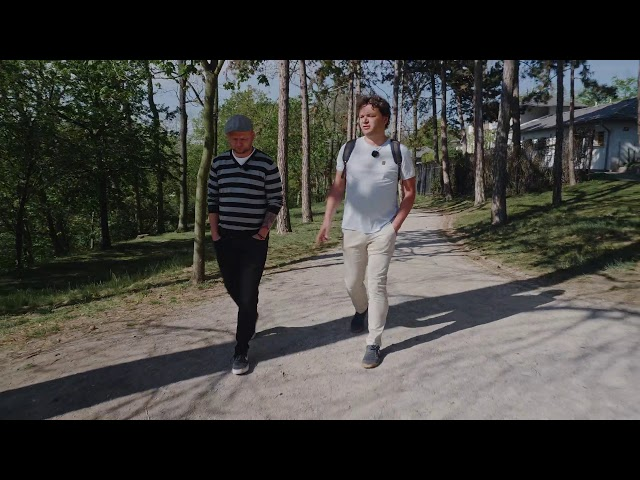 Cult Walk s Petrem Rokůskem, spoluzakladatelem Nano Energies