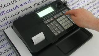 Casio SE-S100 Cash Register - Overview of Features Of The Casio SE-S100