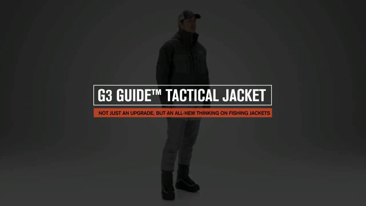 SIMMS G3 Guide Tactical Jacket : Flyfish Europe AS
