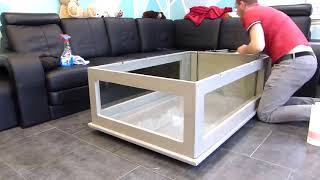 Building An Awesome Aquarium Coffee Table !!!