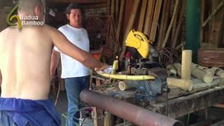 Bending Bamboo by Applying Heat