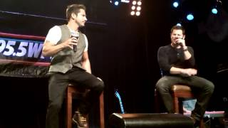 98 Degrees - Concert au Hard Rock Cafe - The Hardest Thing
