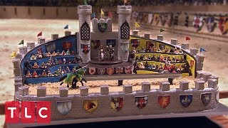 A Castle Cake Fit for a King    Cake Boss