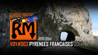 preview picture of video 'Rando-Moto.be 26 JUILLET 2014 PYRÉNÉES (Full HD)'