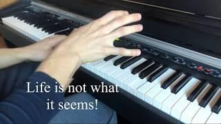Falco  Jeanny (Piano Cover With Lyrics)