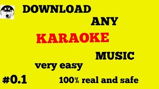 How To Download Any Karaoke Song In Hindi.