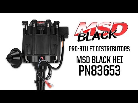 MSD 8365 GM HEI Billet Distributor