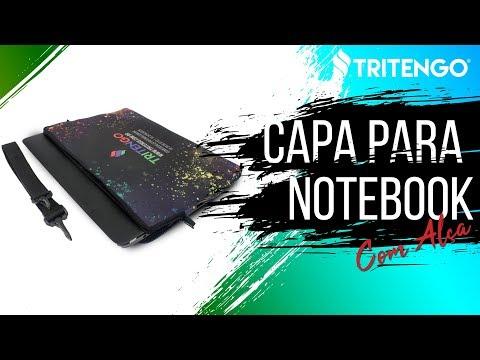 "Capa de Notebook com Alça de Ombro Personalizada para Brinde 15,6"""