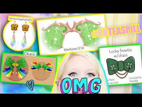 Video Fan Made Accessories & Wings Coming To Royale High! Berita