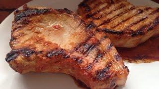 Маринад для мяса. Свиные стейки