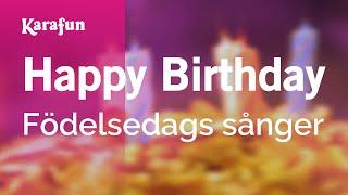 Karaoke Happy Birthday   Happy Birthday Songs *