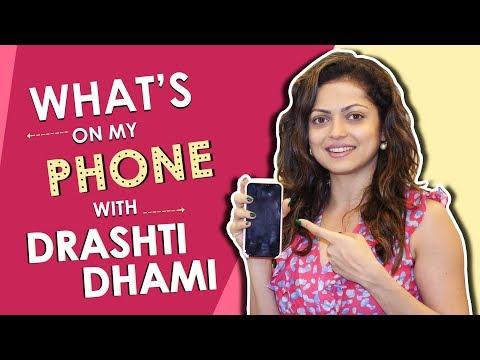Drashti Dhami What's On My Phone | Phone Secrets