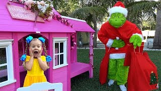 Diana and GRINCH who stole New Year