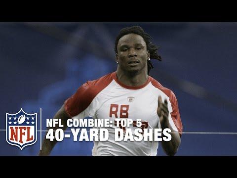 【陸上選手顔負け】NFL選手の驚異的ダッシュ!(NFL COMBINE)