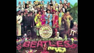 THE BEATLES WHO IS WHO SGT PEPPER'S COVER