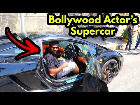 I sat in John Abraham's Lamborghini | Bollywood Celebrity Car | Supercars in India 2018