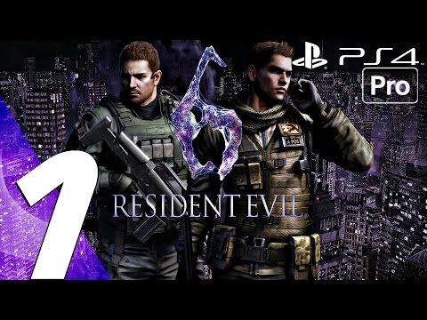 Resident Evil 6 Walkthrough Part 4 Carla Boss Fight Ada By