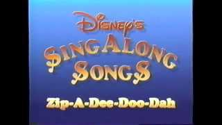 Disney's SingAlong Songs – Ending (1986) Theme (VHS Capture)