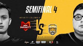 Infinity Esports Colombia VS Wild Jaguars | Semifinales | Golden League Clausura - Playoffs | Mapa 4