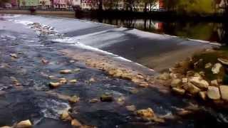 preview picture of video 'Der Neckar in Nürtingen.'