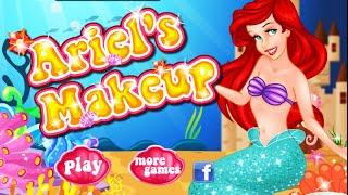 Disney Little Mermaid Princess- Ariel's Makeup- Fun Online Disney Games- Girl Games