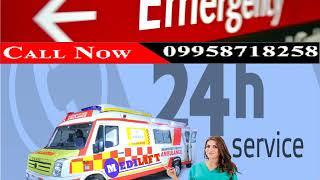 Medilift Road Ambulance Service in Darbhanga at an Affordable Price