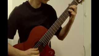 Naruto Shippūden Opening 2, Distance, Classical Guitar, ナルト 距離