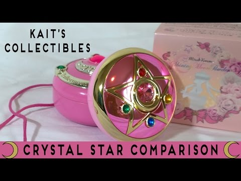Kait's Collectibles Ep 64 – Sailor Moon Crystal Star Brooch Comparisons