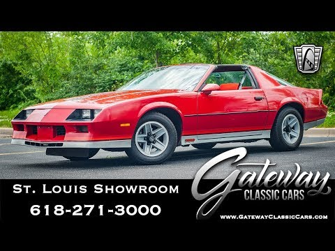 Video of 1984 Camaro located in Illinois Offered by Gateway Classic Cars - St. Louis - QB9Y