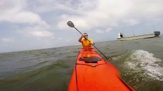Kayaking Ocracoke to Portsmouth Island