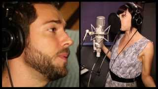 """Exclusive! Watch Zachary Levi And Krysta Rodriguez Record 'First Impressions' From """"First Date"""""""