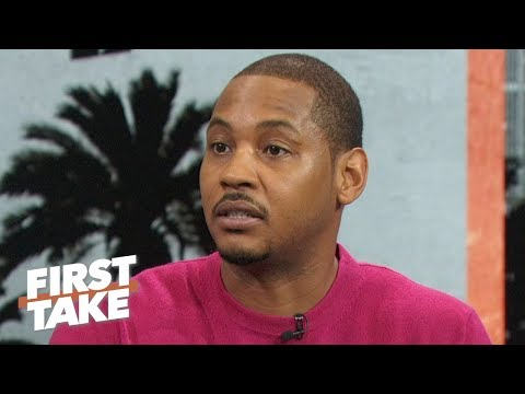 Carmelo Anthony talks leaving Rockets: I felt fired, CP3 and Harden didn't know   First Take