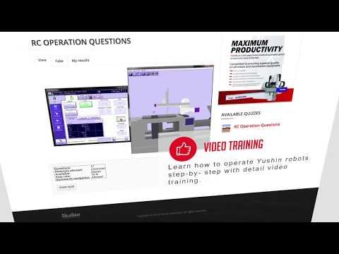 Free Online Training for Injection Molding Robots   Yushin University ...