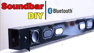 building-bluetooth-soundbar-speaker-with-old-tv-speaker