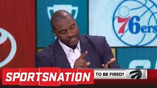 Marcellus Wiley: By firing Dwane Casey, Raptors are extorting their fan base | SportsNation | ESPN