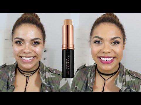 Anastasia Beverly Hills Stick Foundation Review (Oily Skin) | samantha jane