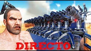 EN DIRECTO - ARK - NOS INTENTAN RAIDEAR, Y ACABAN RAIDEADOS!! 😱😂#10 - EXTINCTION - Nexxuz