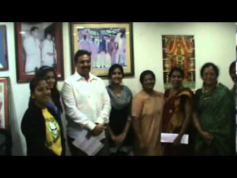 St Francis College for Women met minister for labour, Danam Nagender & Submitted recommendations for SAFE WOMEN SECURE INDIA   Uploaded by SukukiExnora on Jan 08, 2013   St. Francis College for Women