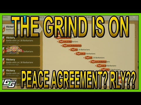GRIND IS ON... RIP RUINS WAR! - Rise of Kingdoms LIVE