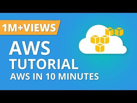 AWS In 10 Minutes | AWS Tutorial For Beginners | AWS Training Video | AWS Tutorial | Simplilearn