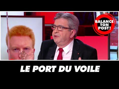Port du voile : Jean-Luc Mélenchon réagit