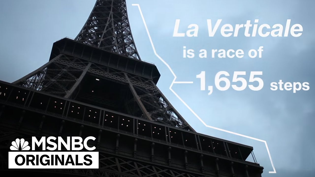 Racing Up The Eiffel Tower, 2 Steps At A Time | MSNBC thumbnail