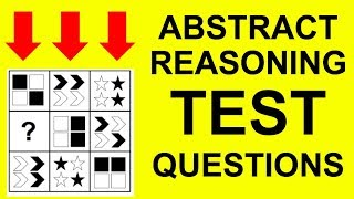 ABSTRACT REASONING TEST Questions and Answers (UCAT, UKCAT, Non Verbal Reasoning)