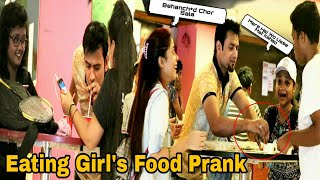 Eating Girl's Food Prank - Canteen Edition - Pranks In India | By TCI