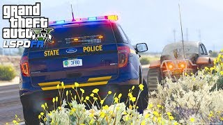 GTA 5 - LSPDFR #192 - How To Perform A Traffic Stop (Teaching Police Codes)